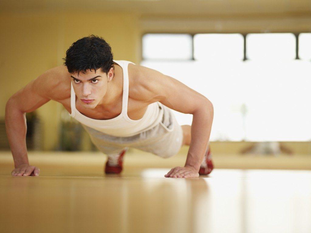 Lịch tập gym tại nhà dành cho nam