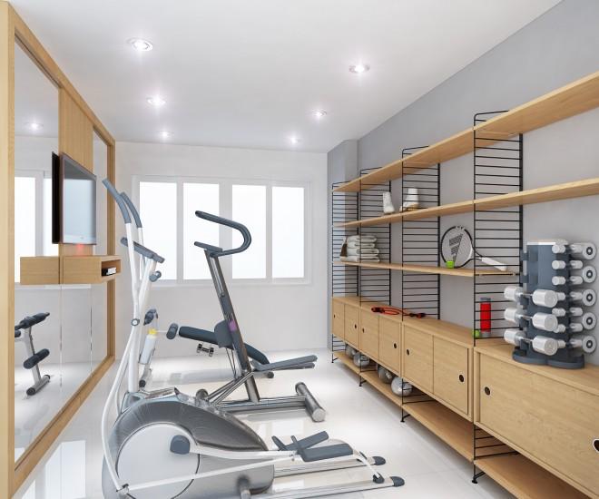 Phòng tập gym đẹp tại nhà ý tưởng tuyệt vời
