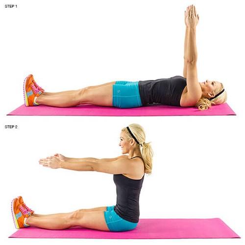 Bài tập thể dục giảm mỡ bụng hiệu quả cho bạn