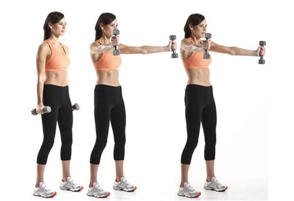 4 bài tập tạ tay cho nữ hiệu quả